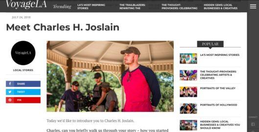 Voyage La - Meet Charles H. Joslain